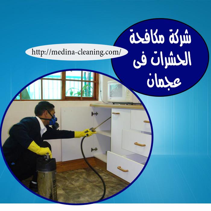 شركة مكافحة الحشرات في عجمان